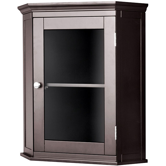 Corner Storage Cabinet for Living Room