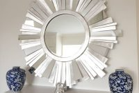Contemporary Sunburst Mirror