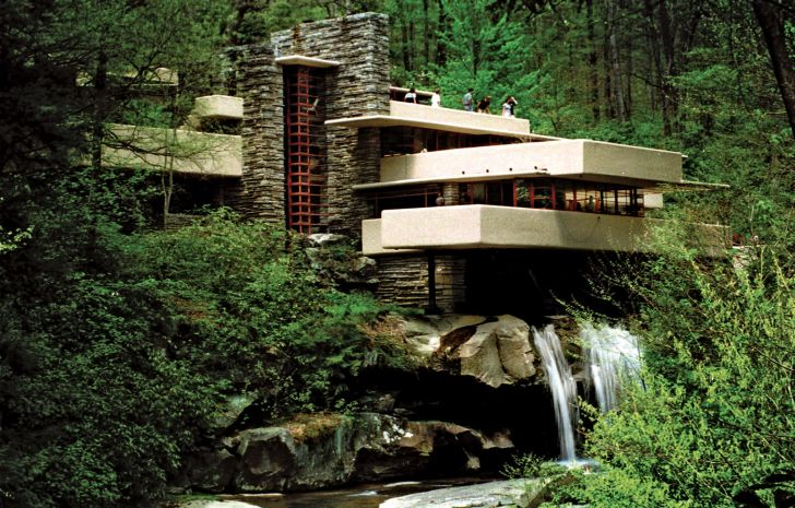 Frank Lloyd Wright Organic Architecture Philosophy To Construct A Building Homes Furniture Ideas