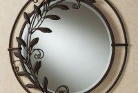 Galeazzo Round Mirror Antique Bronze