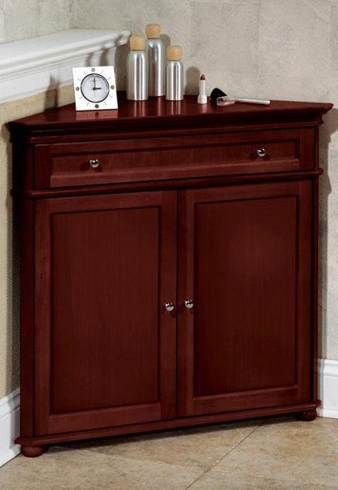 Corner Storage Cabinet for Living Room
