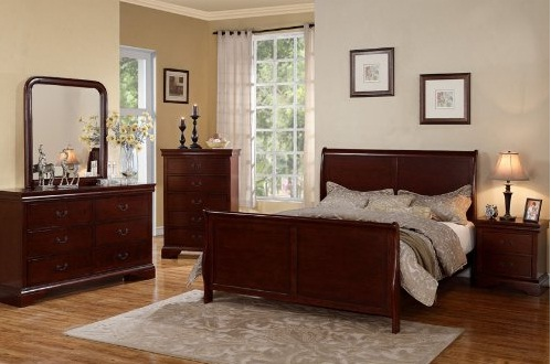 Louis Philippe bedroom furniture