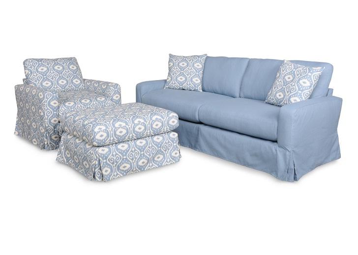 SOFAB Annapolitan Blue Sofa