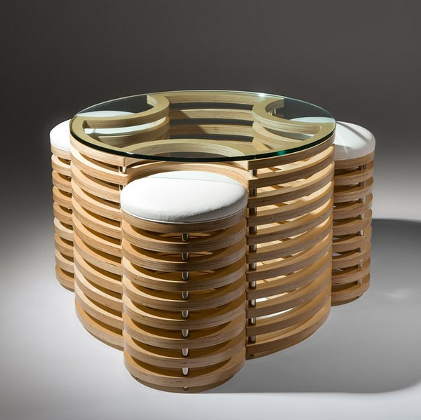 3D Coffee Table Set by Martin Gallagher