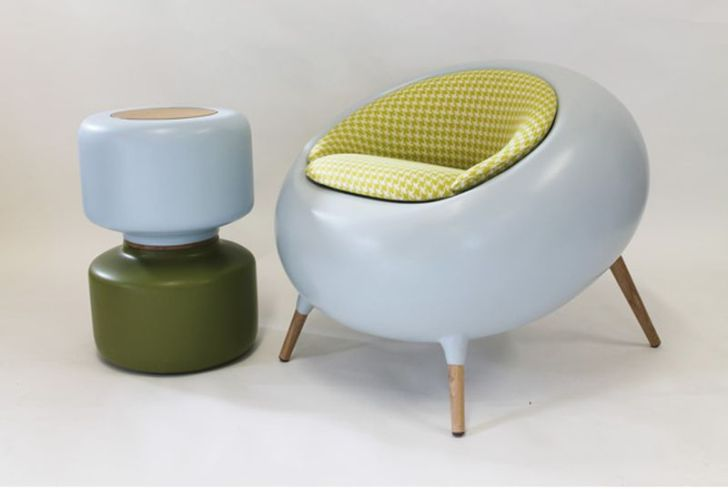 Acari Modern Chair with Cushion