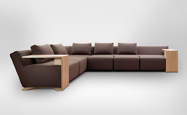 Convenience and Functionality Sofa Hocky