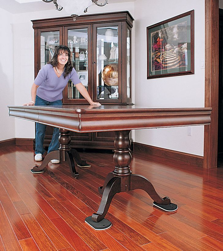 Prevent Scratch With Furniture Glides For Hardwood Floors