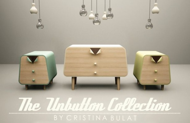 The Unbutton Collection by Cristina Bulat