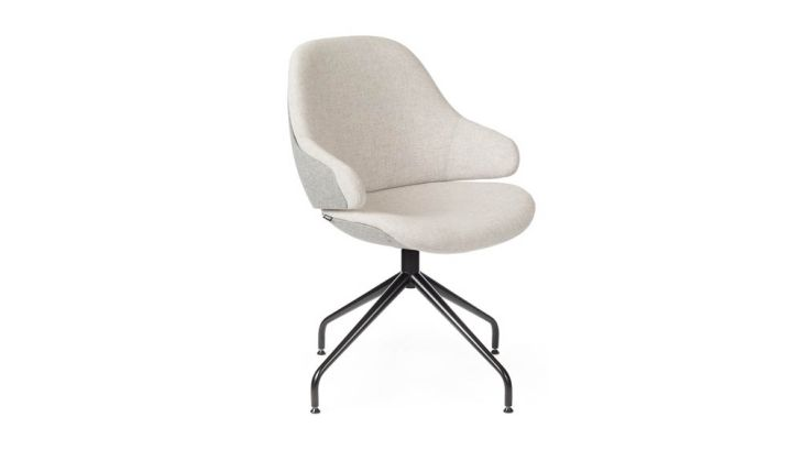 White Sleek Armchair by Noé Duchaufour Lawrance