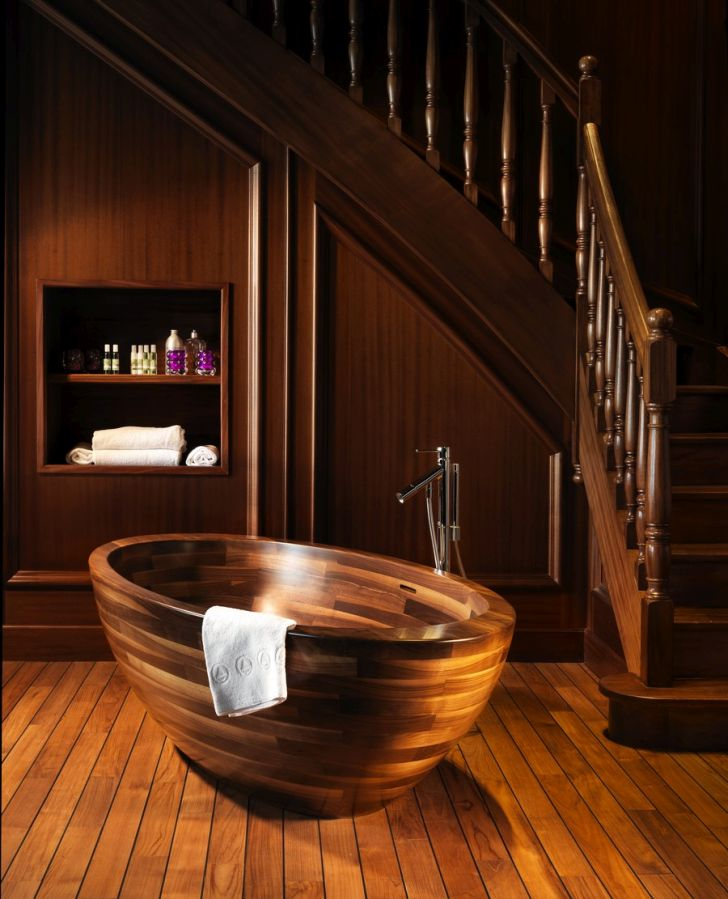 Wooden Bathtub Designs