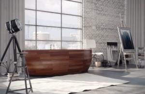 Wooden Bathtub Designs