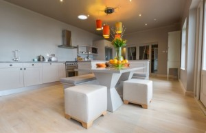 The Outlook Curved Bespoke Kitchen