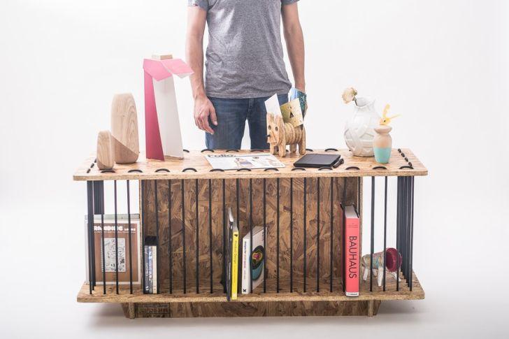 CONSOLA – Creative Storage Furniture by Jorge Diego Etienne