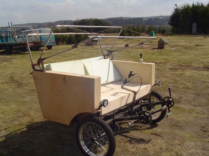 Hybrid Sofa Bike Prototype 2