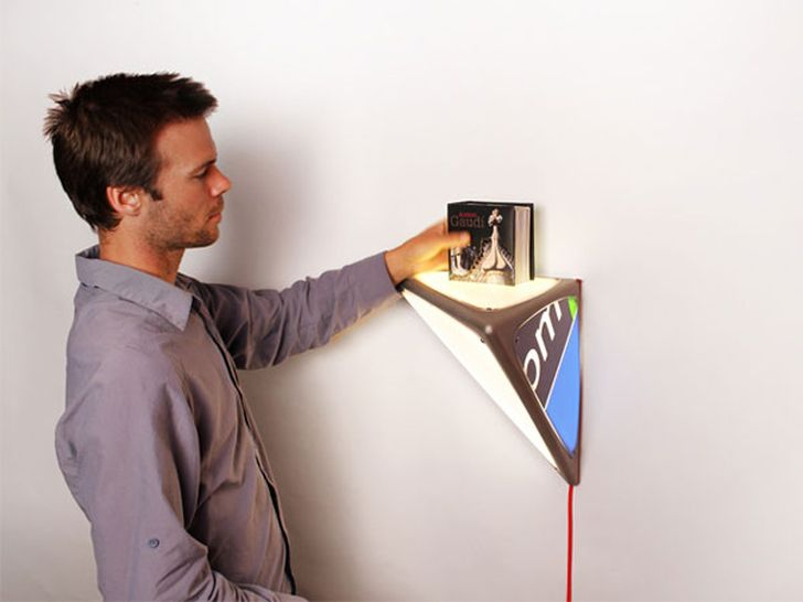 Ledge Lamp Hanging