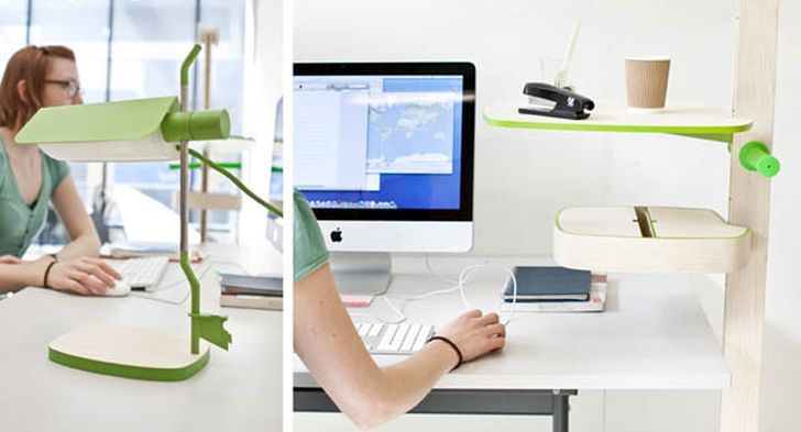 NINO Flexible Office System puts Mobility and Functionality