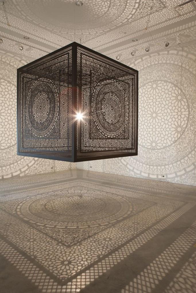 Pakistani Light Design by Anila Quayyum Agha