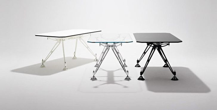 Raptor Table – Furniture Piece with Futuristic Looks