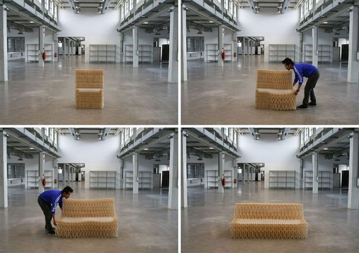 Retractable Sofa XXX by Yuya Ushida