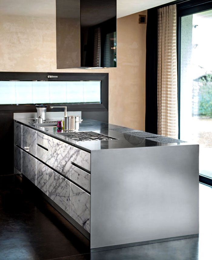 The atelier stainless steel kitchen perfect for modern for Perfect kitchen stainless