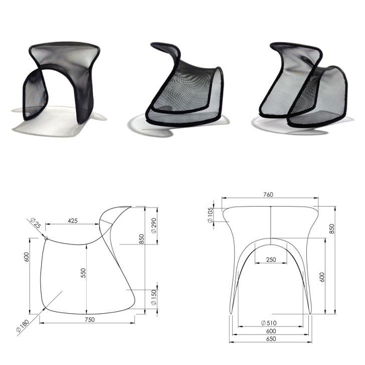Ergonomic Camou Chair