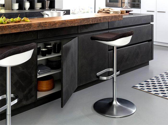 Concrete Kitchen of LEICHT