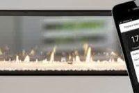 Escea Gas Fireplace Escea Fireplace Controlled by Smart Phone