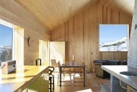 30 Wood Walls Inspirations Home Vacation with Wooden Wall-Wooden Chair and Table-Dark Sofa