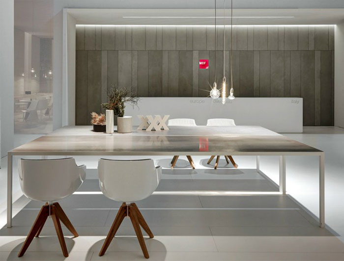 Lim Table Family of MDF Italia