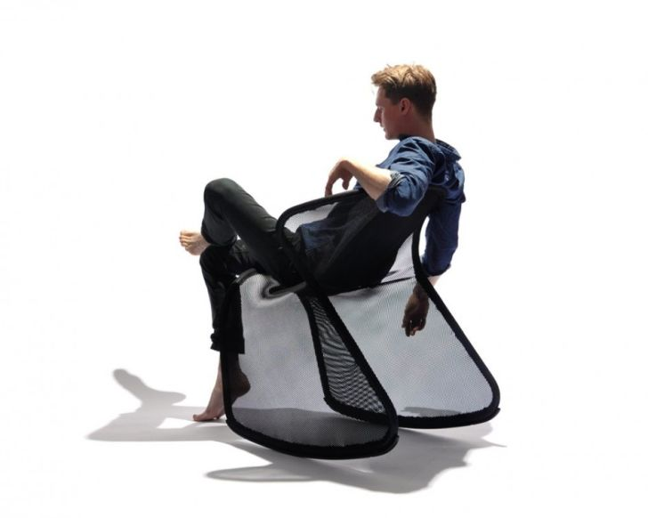Ergonomic Camou Chair
