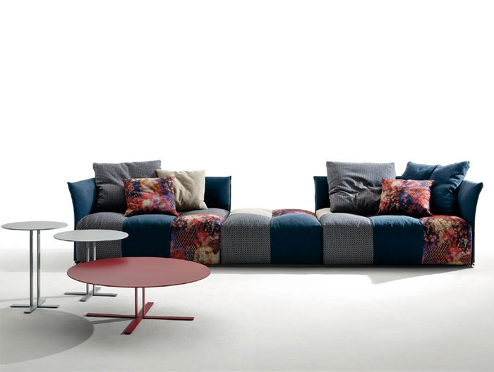 Pixel sofa by Sergio Bicego