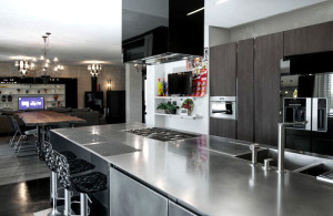 The Atelier Stainless Steel Kitchen