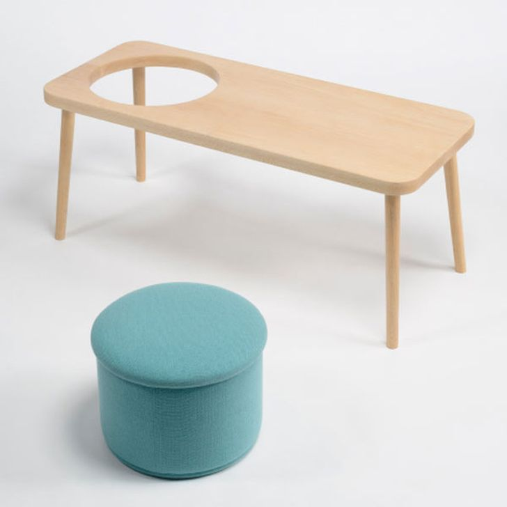 Steps Bench as Seating System Solution for Child Development