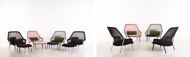The Slow Chair by Ronan and Erwan Bouroullec