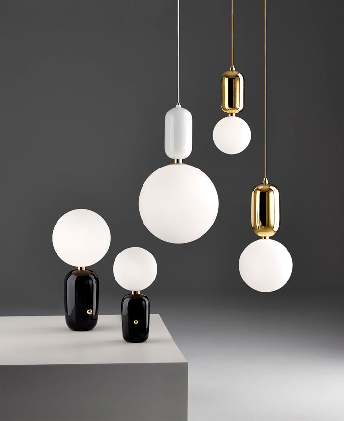 ABALLS Lamps Collection Collections of Chandelier Aballs Light and Table Abballs Lamp