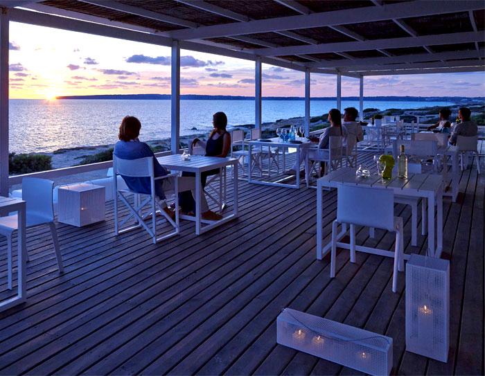 An Odyssey Outdoor Furniture Gandia Blasco Outdoor Wooden Living Furniture in Islands of Ibiza