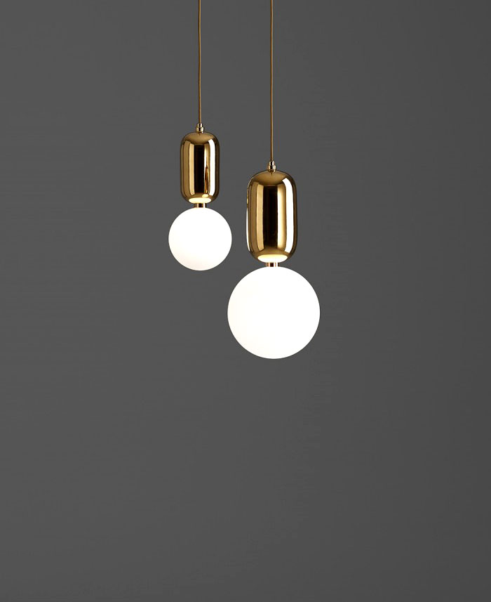 ABALLS Lamps Collection Gold Hanging Aballs Light