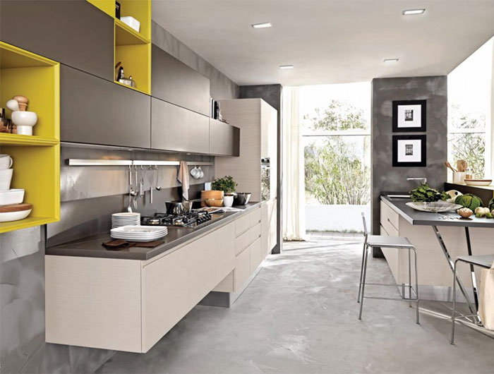 kitchen countertop sland kitchen island arrangement with casual seating and wall mounted kitchen storage