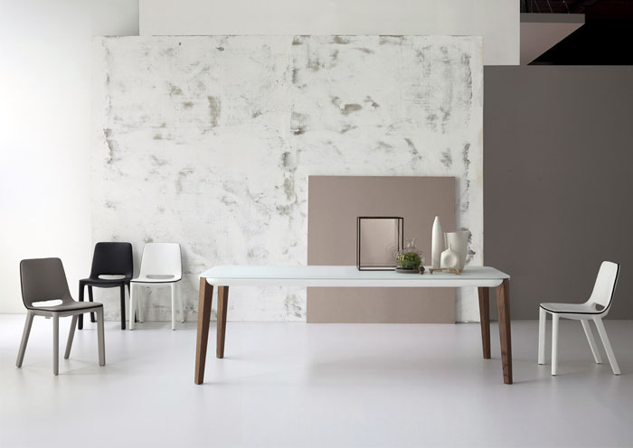 Bonaldo Table Concept Match Table Design by mauro Lipparini
