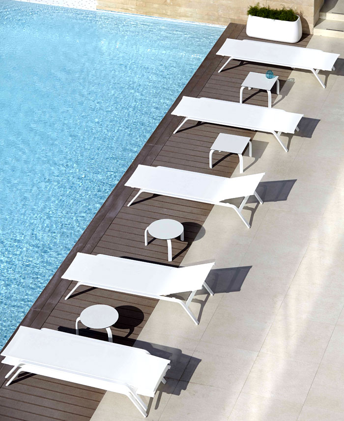 An Odyssey Outdoor Furniture Outdoor Patio Furniture by Gandia Blasco-Mediterranean Identity