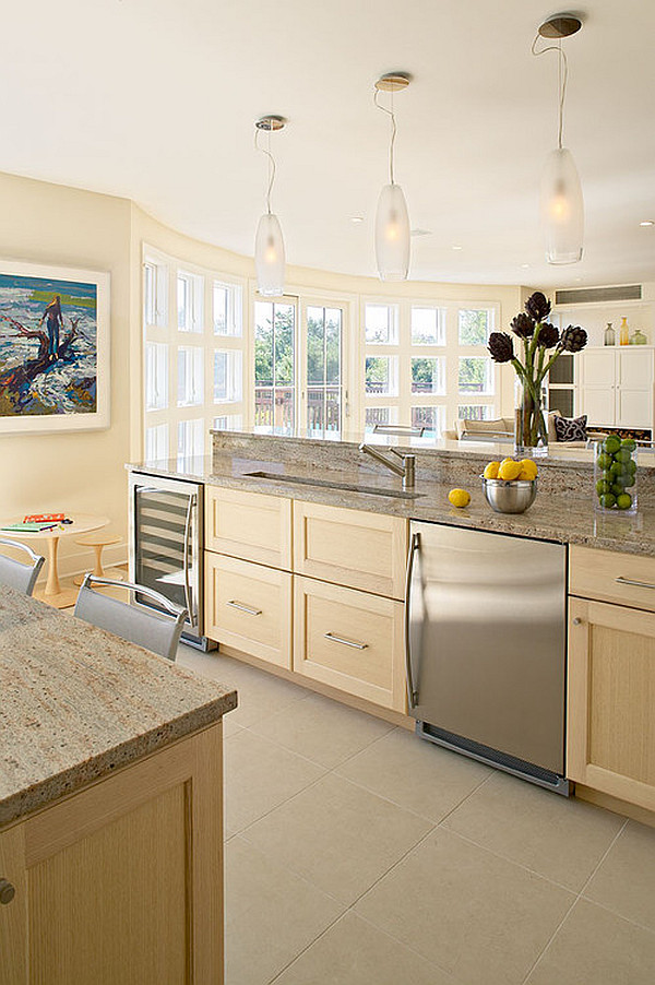 shaker-style-furniture-contemporary-shaker-style-cabinets-stainless-kitchen-cabinet-door-with-decorative-hanging-lamps-white-framed-windows