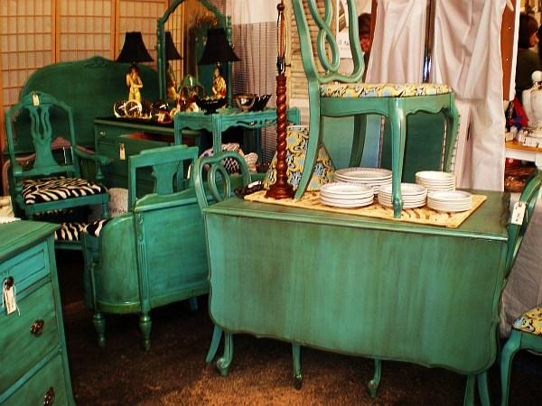antique distressed furniture distressed-turqoise-furniture-antiques