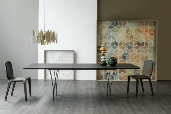 new bonaldo table gap-elegant-table-gap-by-alain-gilles-with-artistic-accessories