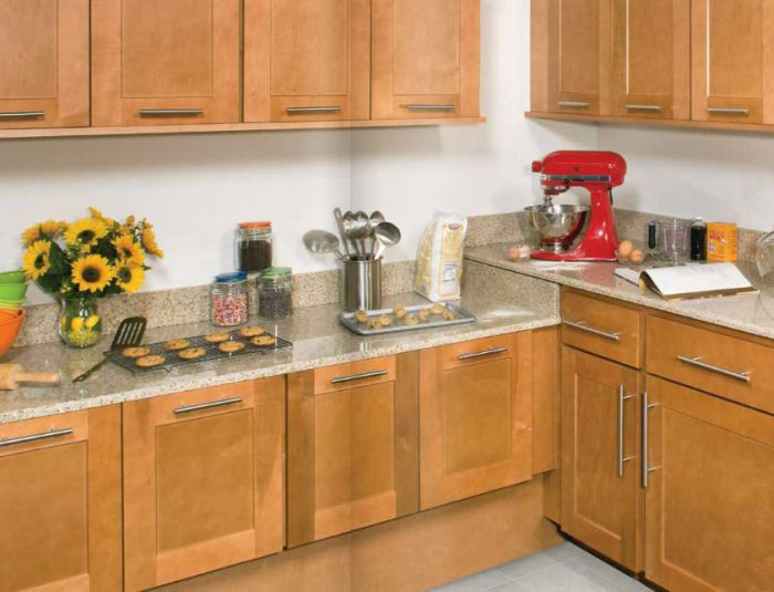 Kitchen Cabinet Doors Maple Wood Sides Are Plywood