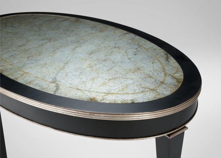Ethan Allen Oval Winston Coffee Table