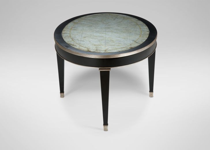 Ethan Allen Round Winston Coffee Table