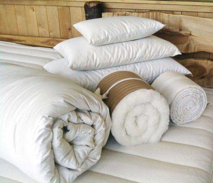 Organic Bedding Options-Holy-Lamb-Organics-Eco-Wool-Comforters-and-Pillows