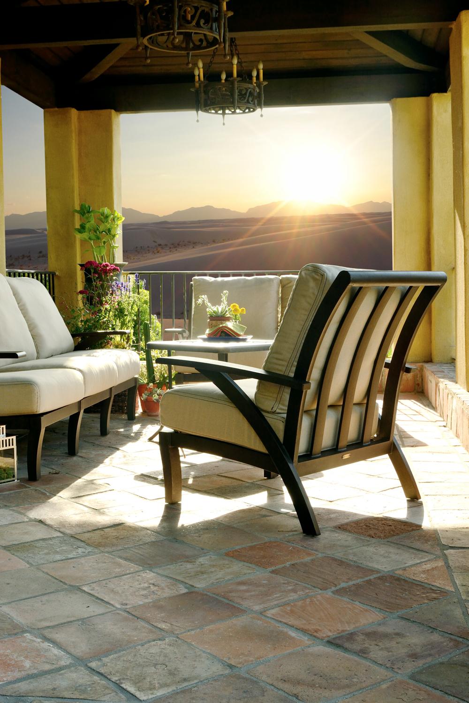 mallin patio furniture mallin barletta cushion deep seating