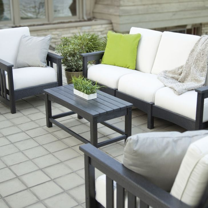 Polywood Patio Furniture-Polywood Patio Coffee Table Furniture