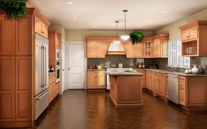 rta-kitchen-cabinet-rta-ginger-maple-finish-kitchen-cabinets